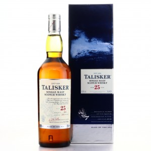 Talisker 25 Year Old 2012 Release