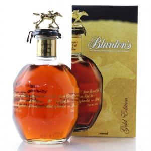 Blanton's Single Barrel Gold Edition Dumped 2016