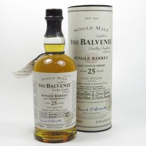 Balvenie 1974 Single Barrel 25 Year Old Front