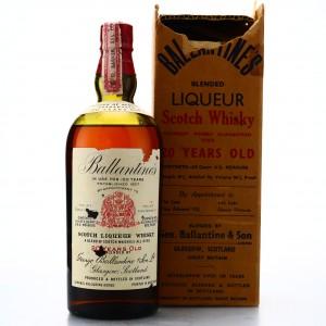 Ballantine's 20 Year Old 1934 / US Import