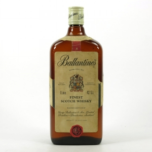 Ballantine's Finest 1 litre 1980s