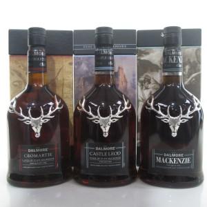 Dalmore Clan Mackenzie Series 3 x 70cl / Mackenzie, Castle Leod, Cromartie