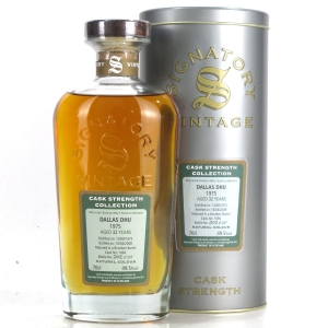 Dallas Dhu 1975 Signatory Vintage 32 Year Old Cask Strength