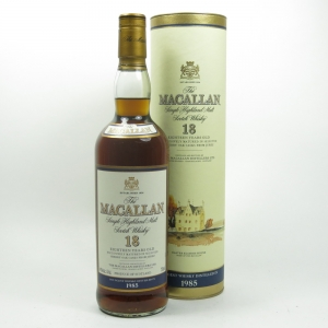 Macallan 1985 18 Year Old Front