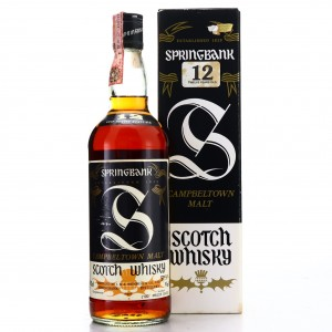 Springbank 12 Year Old Sherry Cask 1980s / Samaroli Import