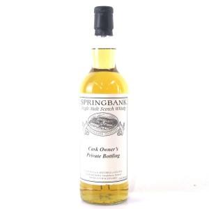 Springbank 1997 Private Cask Bottling