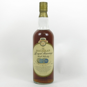 Macallan Royal Marriage Front