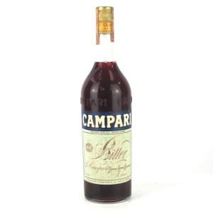Campari Bitter Circa 1970s 1 Litre