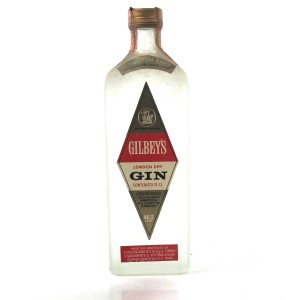 Gilbey's London Dry Gin 1960s