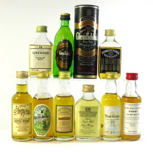 Speyside Miniature Selection x 9