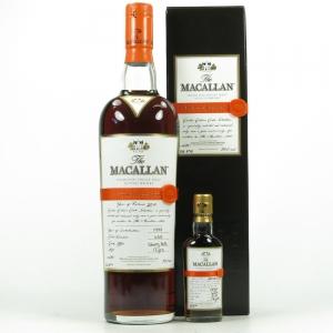 Macallan 1997 Easter Elchies 2010 Including Miniature