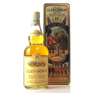 Glen Moray 12 Year Old / Queens Own Cameron Highlanders