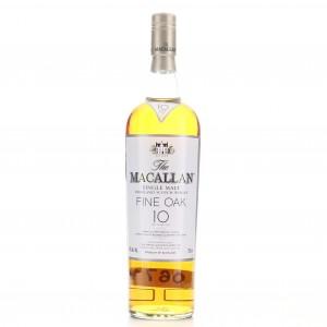 Macallan 10 Year Old Fine Oak 75cl / US Import