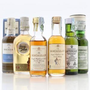 Scotch Whisky Miniature Selection x 6