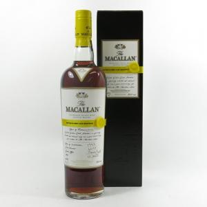 Macallan 1999 Easter Elchies 2012 front