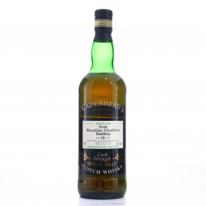 Macallan 1976 Cadenhead's 19 Year Old Sherry Wood 75cl / US Import
