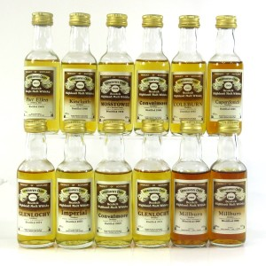 Gordon and MacPhail Closed Distillery Miniature Selection x 12