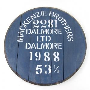 *Dimensions - Dalmore Faux Cask End