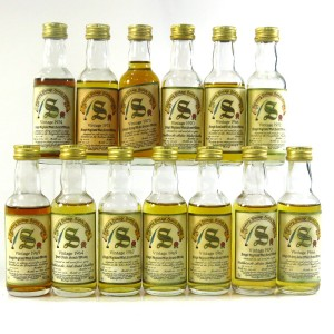 Signatory Vintage Miniature Selection 13 x 5cl