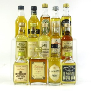 Highland Miniature Selection x 14