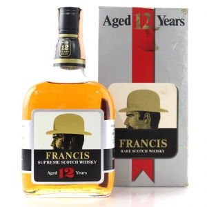 Francis 12 Year Old Supreme Scotch Whisky 1980s