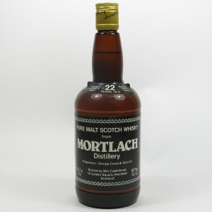 Mortlach 1957 Cadenhead's 22 Year Old Front