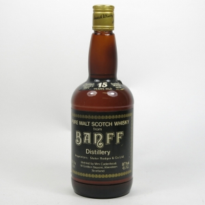 Banff 1964 Cadenhead's 15 Year Old