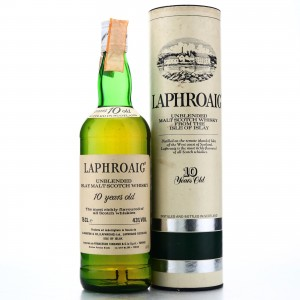 Laphroaig 10 Year Old early 1980s / Cinzano Import