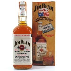Jim Beam White Label 1980s