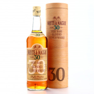 Whyte and Mackay 30 Year Old Very Rare 1980s