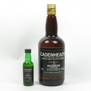 Bowmore 1979 Cadenheads 11 Year Old (Including Miniature)