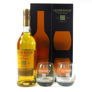 Glenmorangie 10 Year Old The Original / with 2 x Glasses