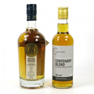 Inver House 50th Anniversary Blend 50cl & SWA Centenary Blend 35cl