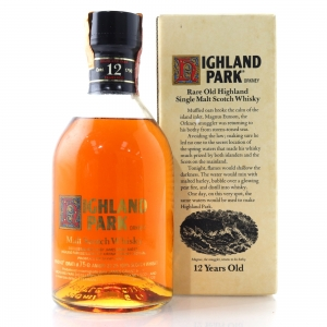 Highland Park 12 Year Old 1980s / Ferraretto Import