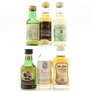 Island Miniature Selection 6 x 5cl / including Talisker Map Label