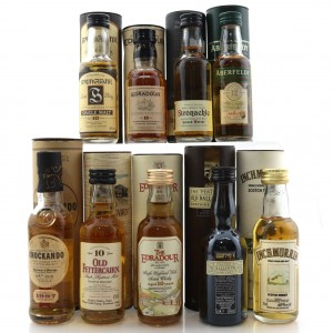 Single Malt Miniature Selection 9 x 5cl