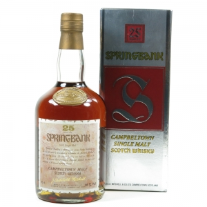 Springbank 25 Year Old 1990s