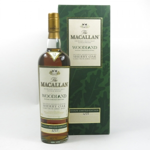 Macallan 12 Year Old Woodland Estate Limited Edition