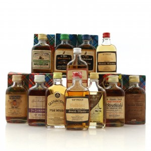 Gordon and MacPhail 1970s Miniature Selection x 12 / Includes Glen Mhor