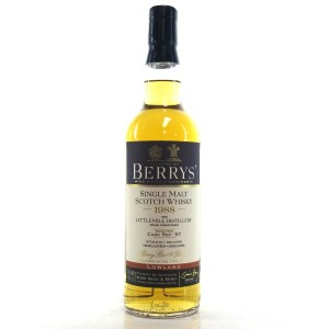 Littlemill 1988 Berry Brothers and Rudd 25 Year Old