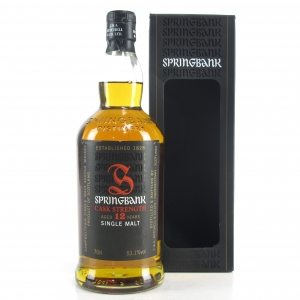 Springbank 12 Year Old Cask Strength / 53.1%