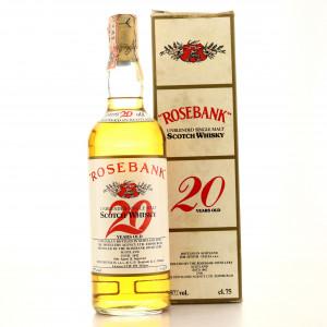 Rosebank 20 Year Old Full Proof 1980s / Zenith Import