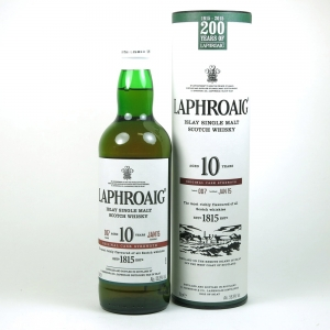 Laphroaig 10 Year Old Cask Strength Batch #07 200th Anniversary Limited Edition