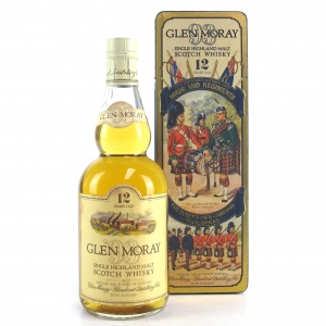 Glen Moray 12 Year Old 1980s / Queens Own Cameron Highlanders