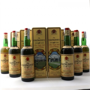 Glenlivet 12 Year Old Classic Golf Courses 6 x 75cl