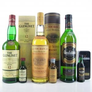 Single Malt Scotch Selection 3 x 70cl / Including Miniatures