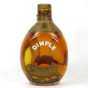 Dimple 3/8 Litre Danish Import 1960s