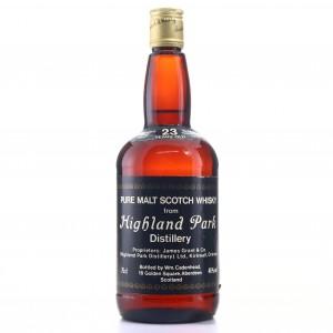 Highland Park 1957 Cadenhead's 23 Year Old