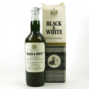 Black & White Blend 1960s