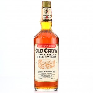 Old Crow 6 Year Old Kentucky Straight Bourbon 1977